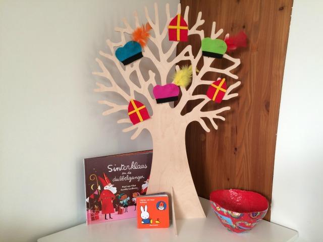 Sinterklaas knutselen - seizoensboom