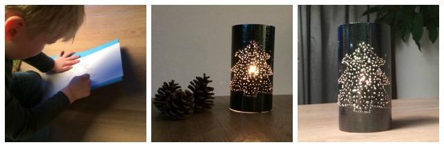 eenvoudige kerstlichtjes