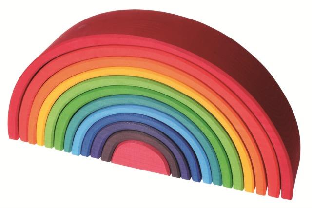 houtspel grimms regenboog