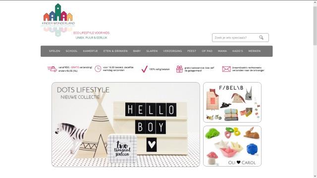 bblogt loves webshops kinder wonderland