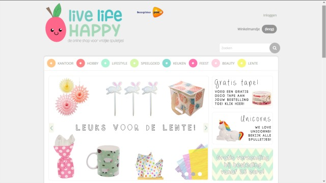 bblogt loves webshops live life happy