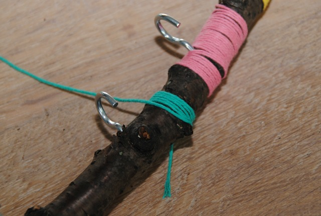 diy sieradenhanger van een tak