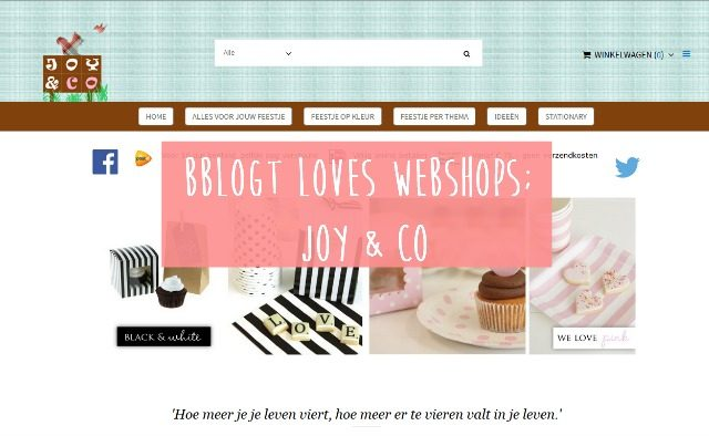 Bblogt loves webshops; Joy & Co