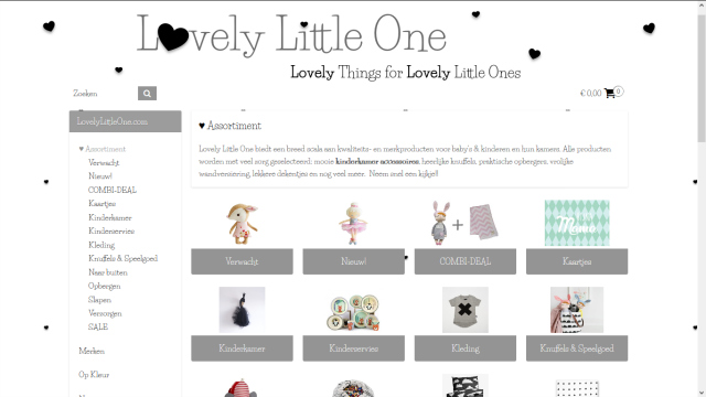 Bblogt loves webshops; Lovely Little One