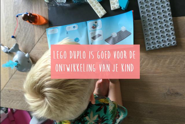 Lego Duplo is goed voor de ontwikkeling van je kind