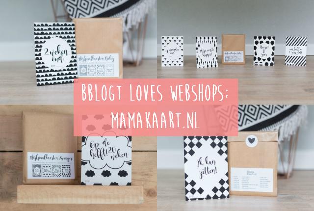 Bblogt loves webshops; MamaKaart.nl