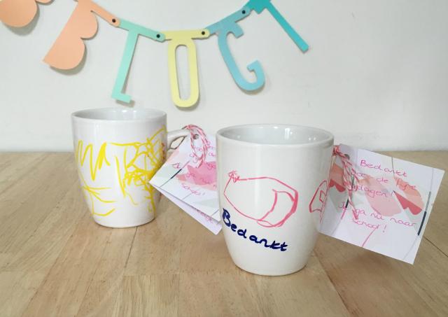 Geliefde DIY; bedankje voor de juf (Cake in een mok) » Fulltime Mama.nl @FT15