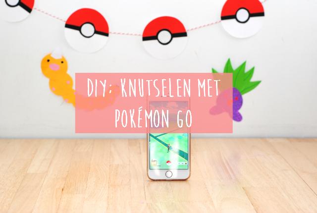 DIY; knutselen met Pokemon Go