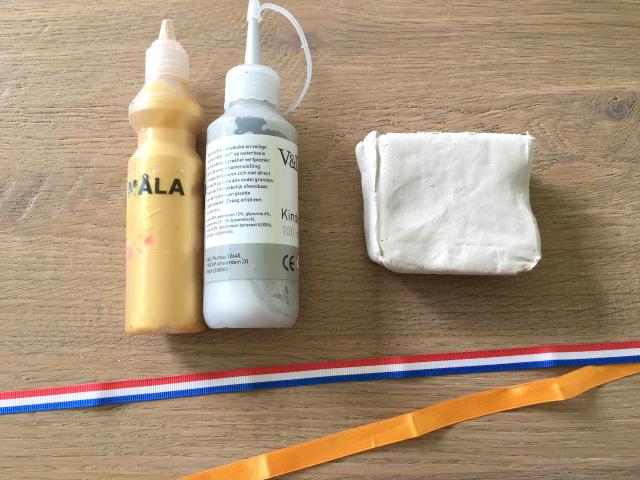 DIY; Olympische medailles van klei