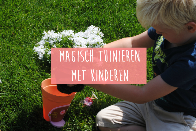 Magisch tuinieren met kinderen uitgelic