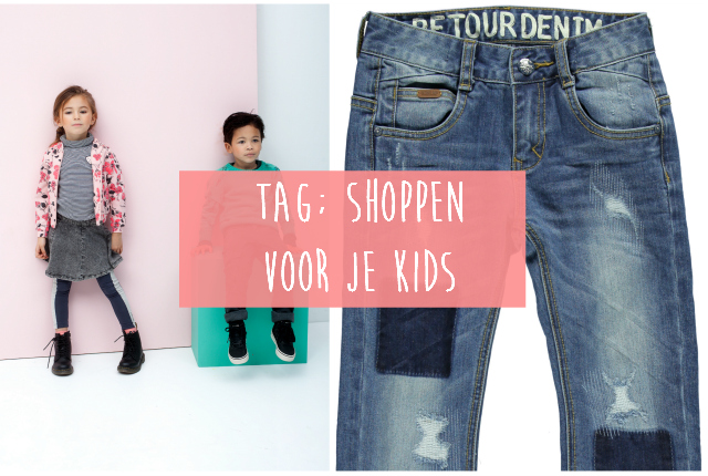 TAG; Shoppen voor je kids