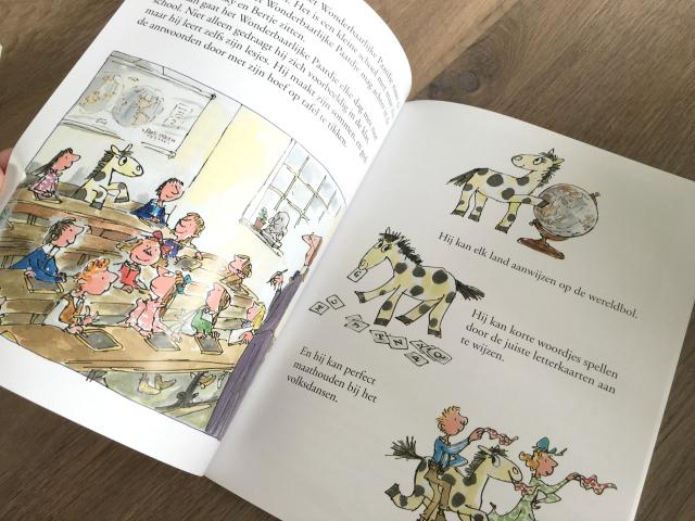 Winactie; twee te gekke prentenboeken van Quentin Blake
