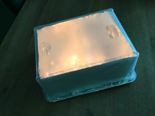DIY; lichtbak maken voor kinderen