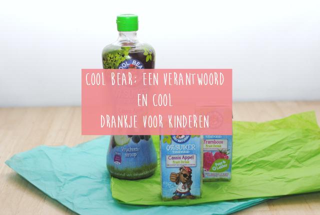 Cool Bear; Een verantwoord en cool drankje voor kinderen