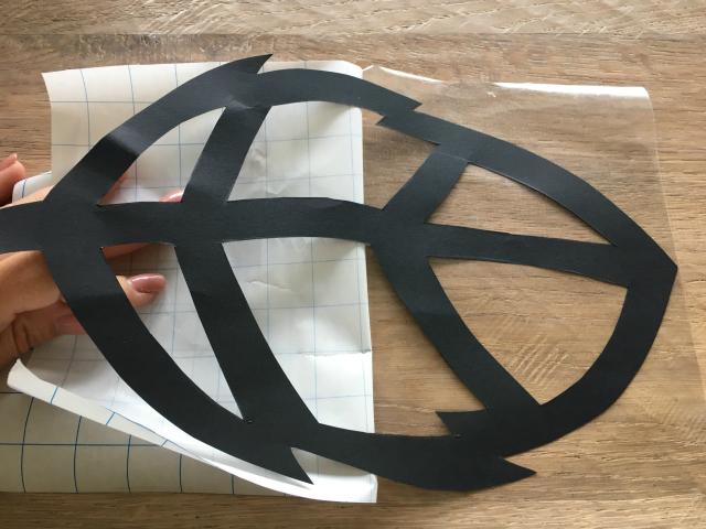 DIY; Herfst raamdecoratie knutselen