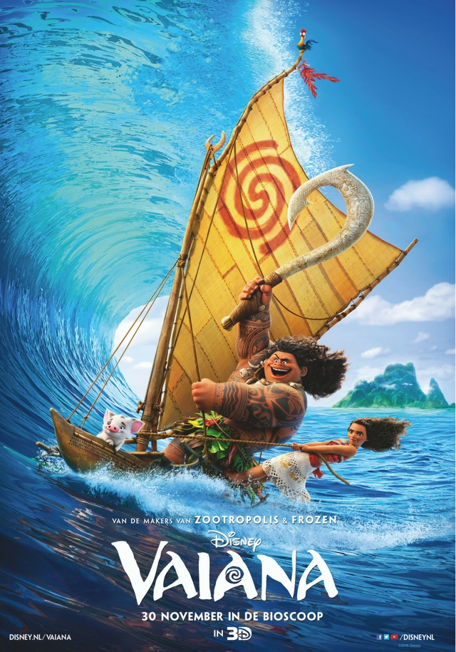 Preview; Vaiana, een betoverende film van Disney