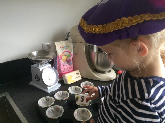Recept; Sinterklaas Cupcakes