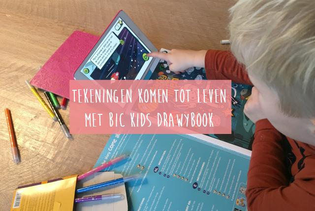 Tekeningen komen tot leven met BIC Kids DrawyBook
