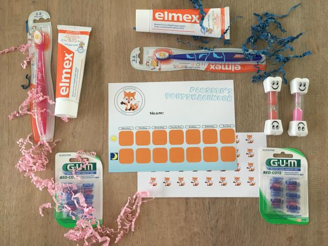 Tandenpoetsen stimuleren met Flossie
