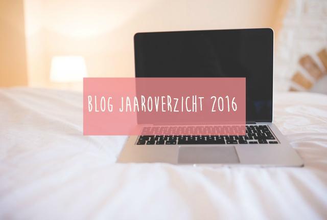 Blog jaaroverzicht 2016