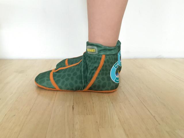 Duukies Beachsocks beschermen de voeten van je kind