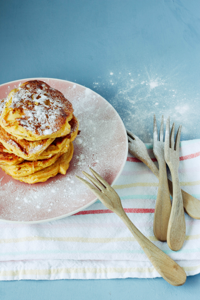 Recept; Amandel pancakes met appel