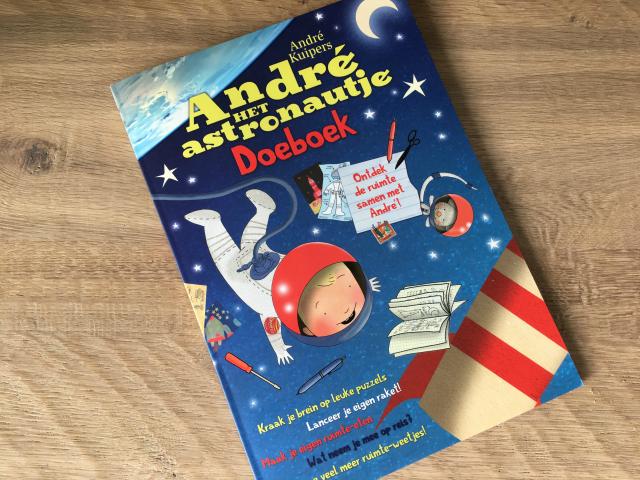Winactie; André het Astronautje Doeboek
