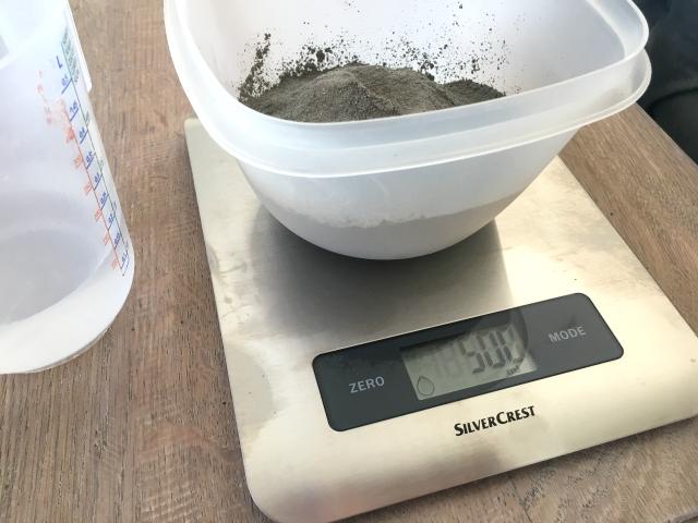 DIY; kaarsenhouder van cement