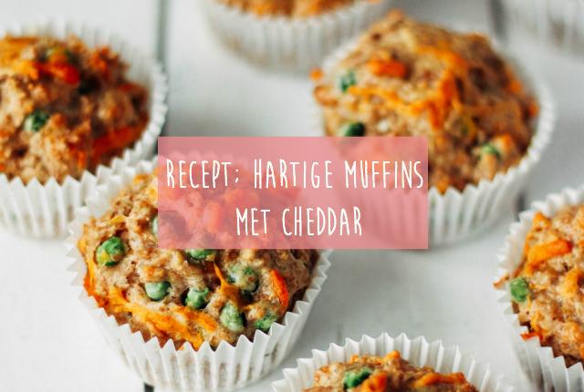 Recept; Hartige muffins met cheddar