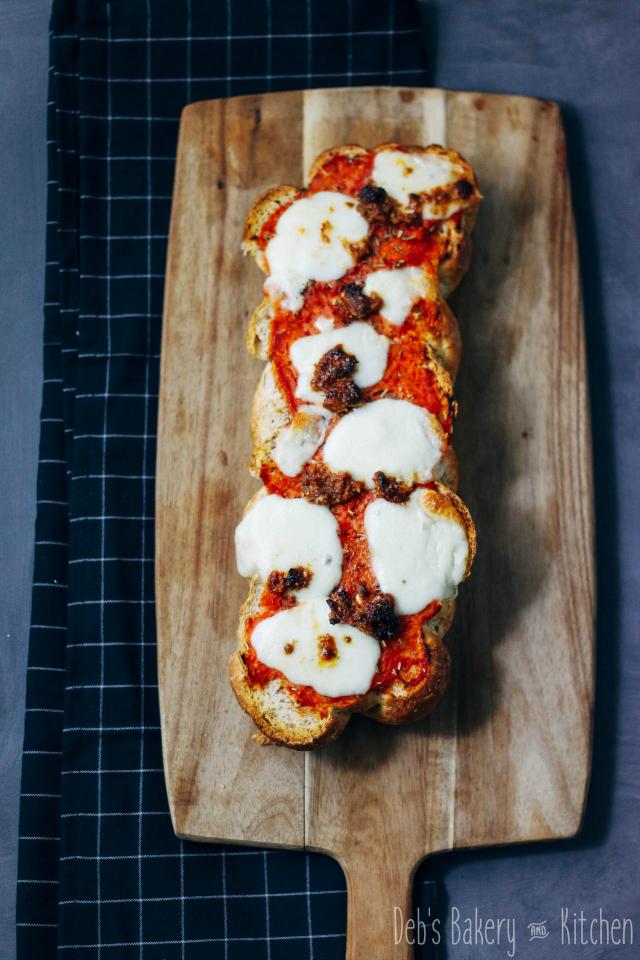 Recept; eenvoudig maar overheerlijk pizzabrood