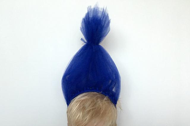 DIY; Trolls haarband