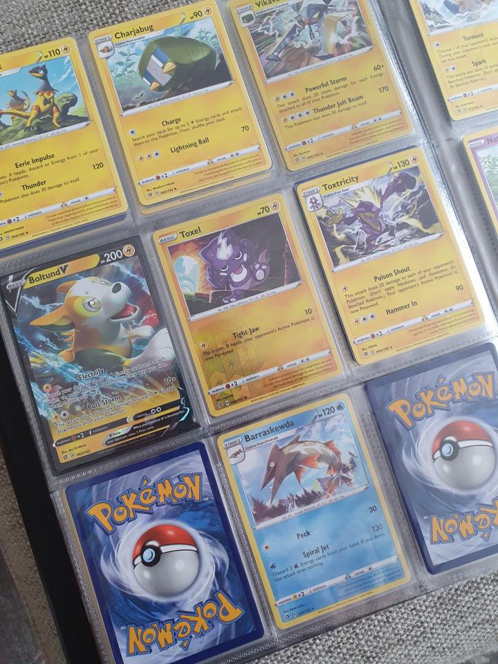 Pokémon kaarten: niet weg te krijgen!
