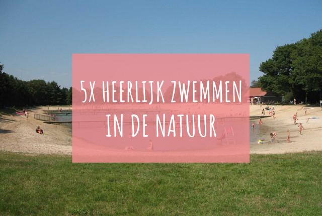 heerlijk zwemmen in de natuur