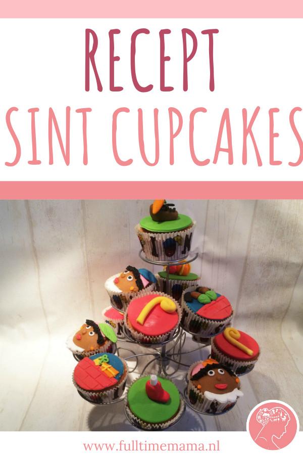 Deze week mag ik jullie voorstellen aan gastblogger Tamara. Zij is voor ons de keuken in gedoken en maakte echte Sinterklaas cupcakes.