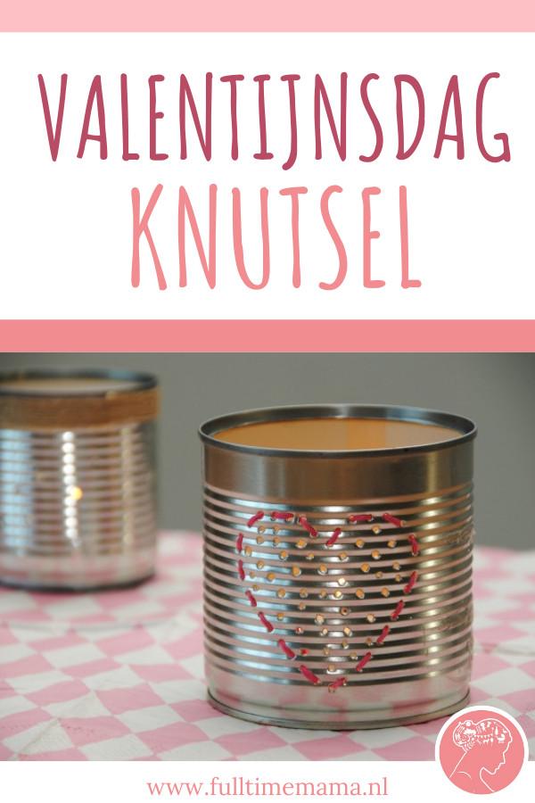 Love is in the air.. Valentijnsdag komt eraan dus wij maakten alvast instant romantiek in een blik. Doe jij iets aan Valentijn?