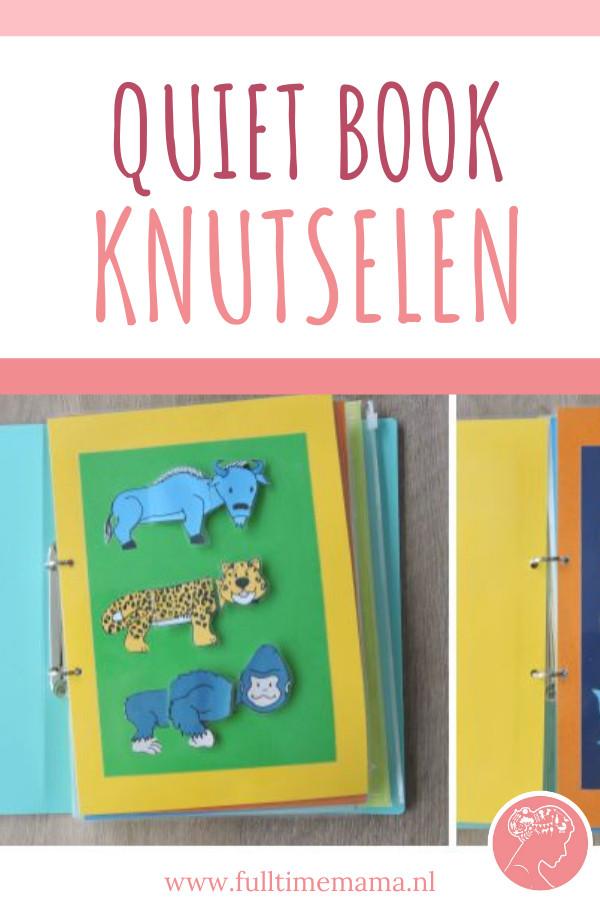 De afgelopen dagen ben ik aan de knutsel geweest voor de kleine man. Na wat inspiratie van Pinterest ben ik een Quiet Book aan het maken.