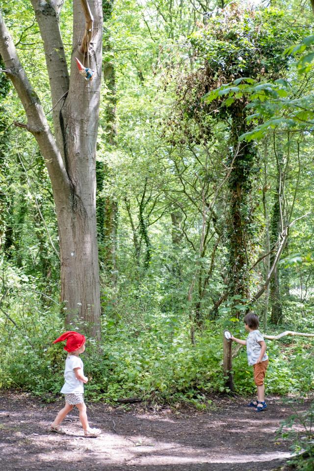 Houd je van boswandelingen maken, maar zijn je kinderen niet gemotiveerd? Dan is een kabouterpad een uitkomst!