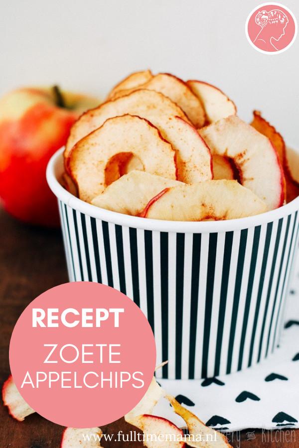 zouden jouw kinderen het liefst alleen maar chips en snoepjes eten? Geef ze dan eens appelchips, veel gezonder maar net zo lekker.