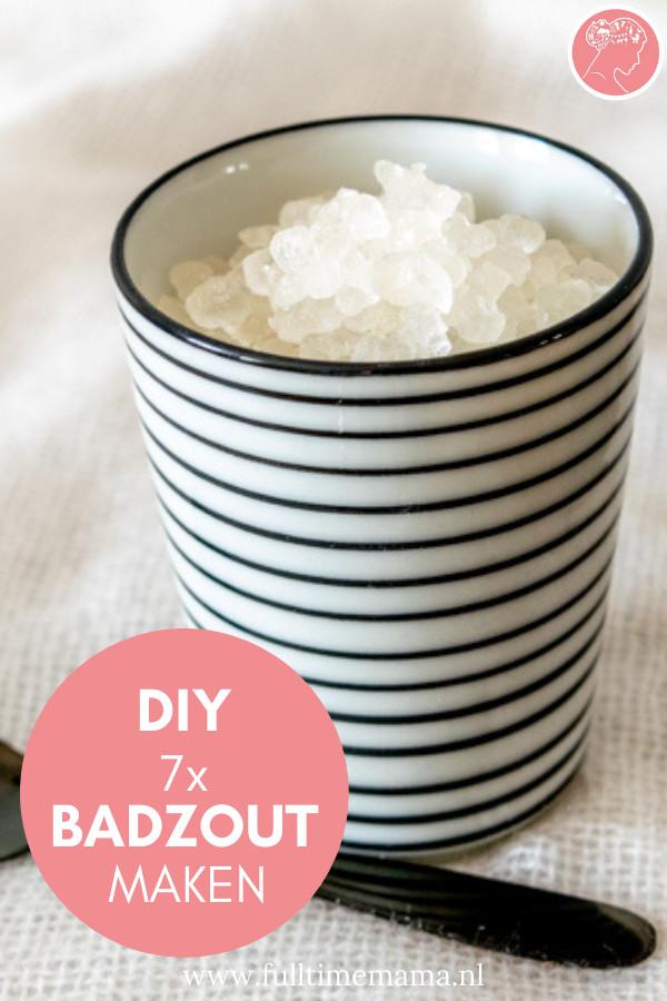In deze DIY lees je 7 ideeën om zelf badzout te maken. Zelf badzout maken met gedroogde bloemen, citroen, pepermunt en nog veel meer