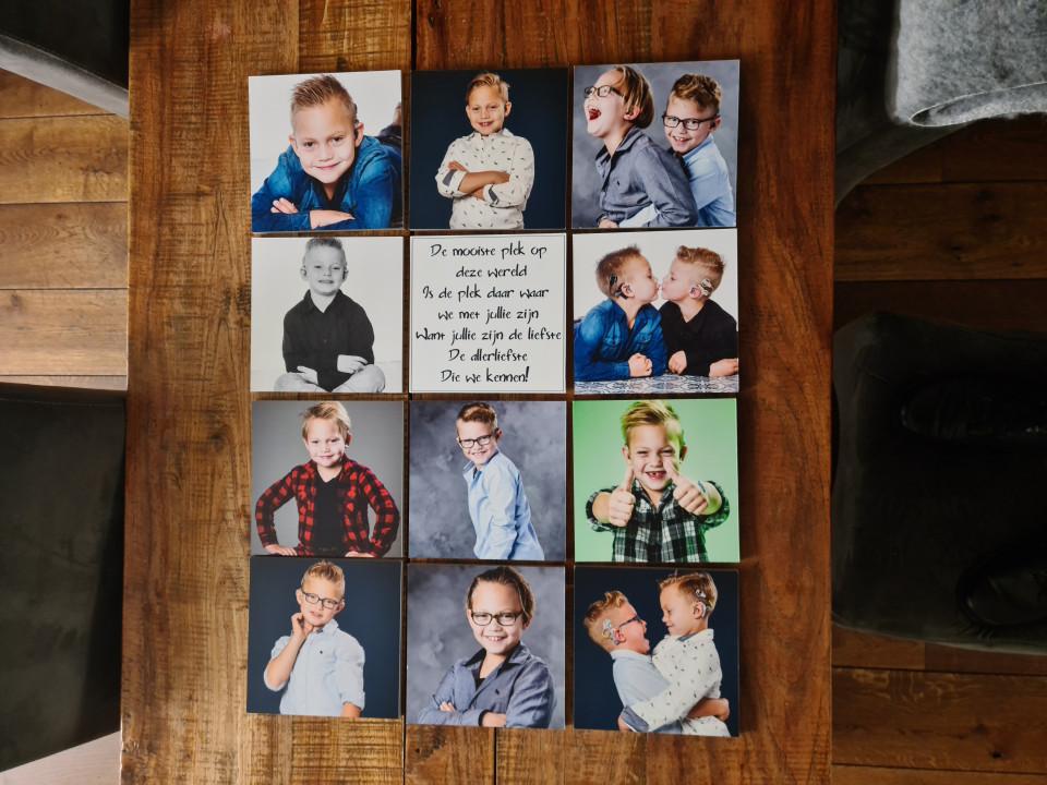 Als je ons huis binnenkomt hebben wij een kale saaie muur bij het trappengat. Tijd voor een MIXPIX fotoproduct van BesteCanvas.nl.